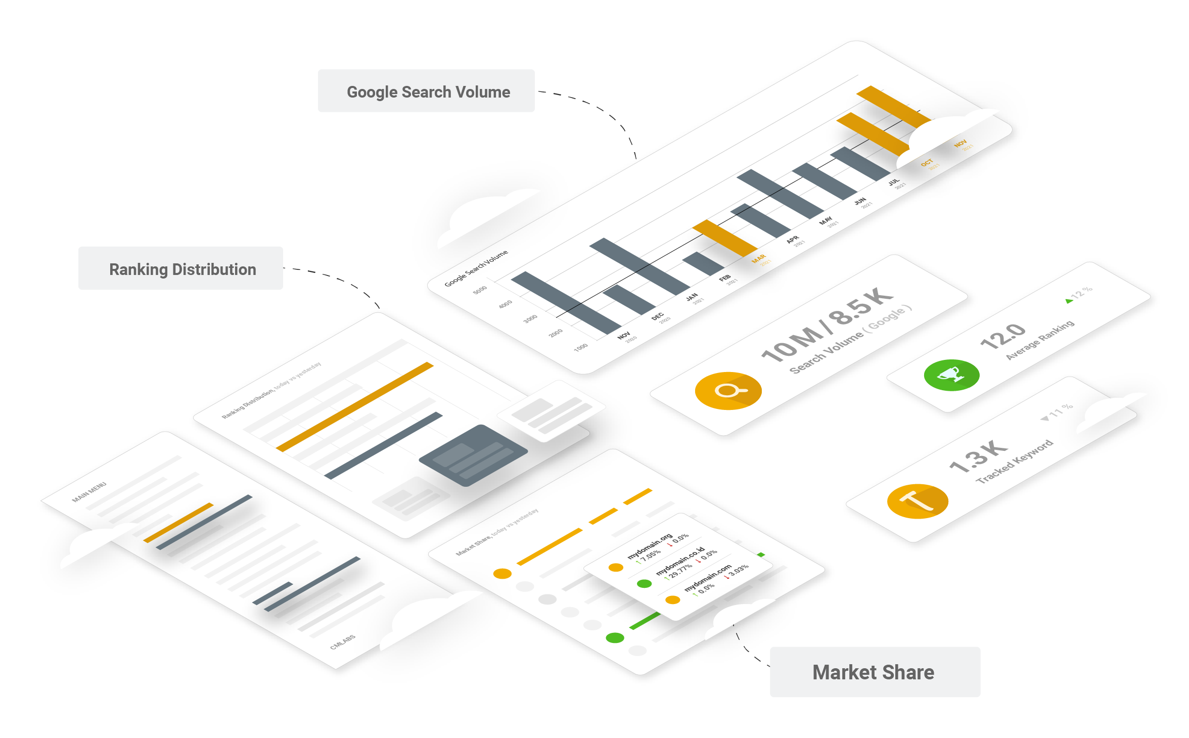 Analytics Features Illustration