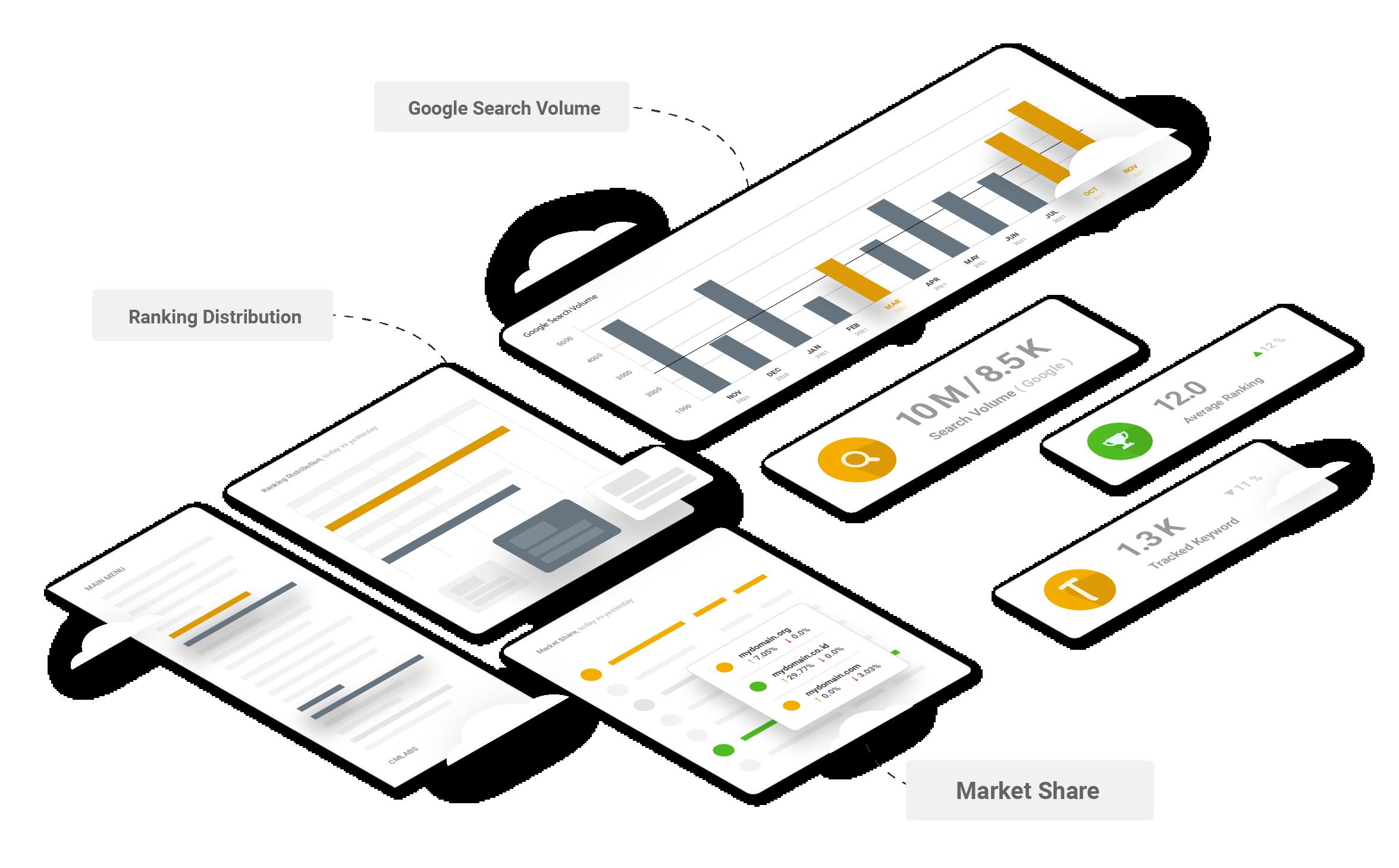 Analytics Features Illustration