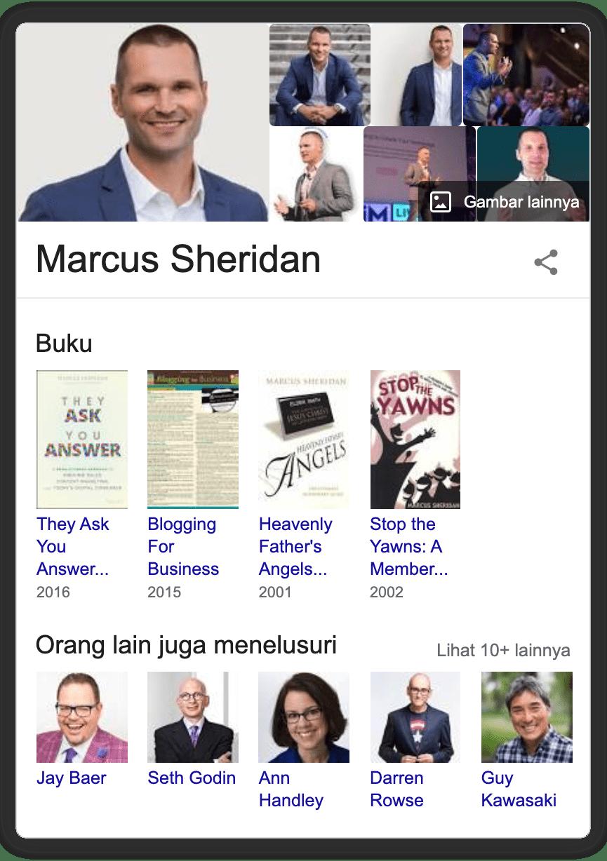 profil markus sheridan