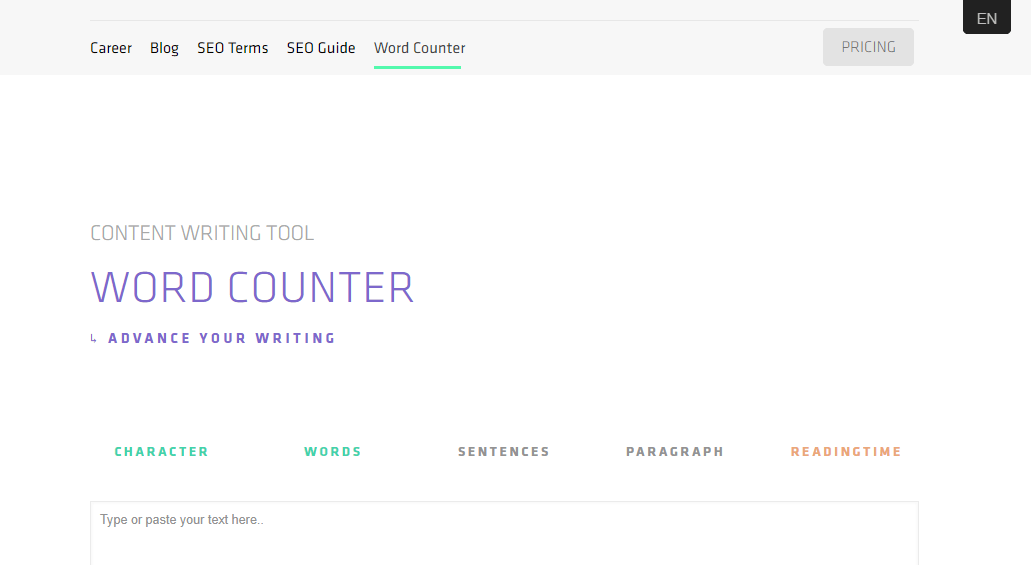 word counter cmlabs