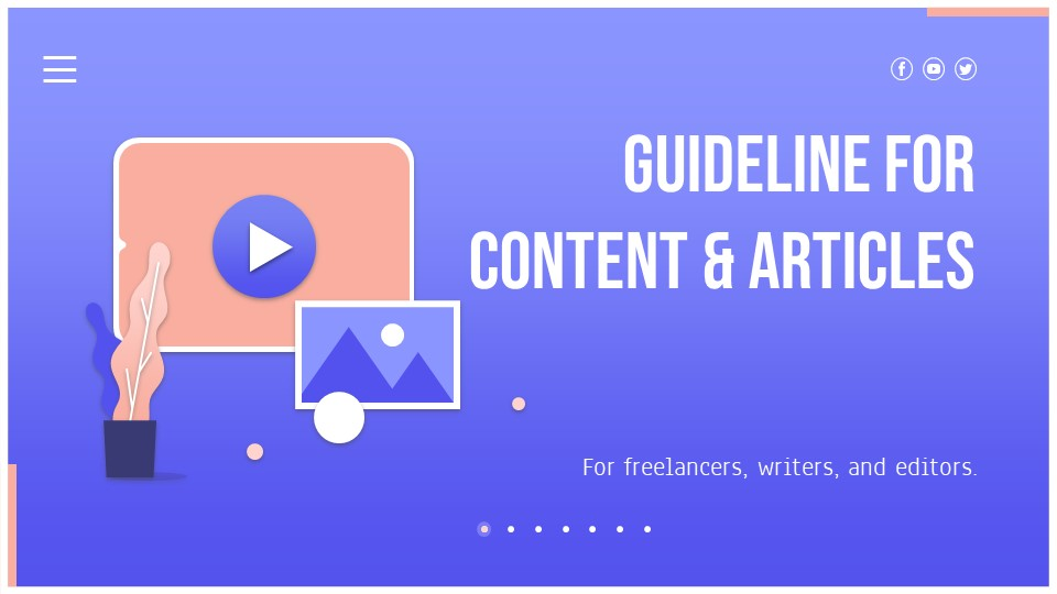content writing guideline