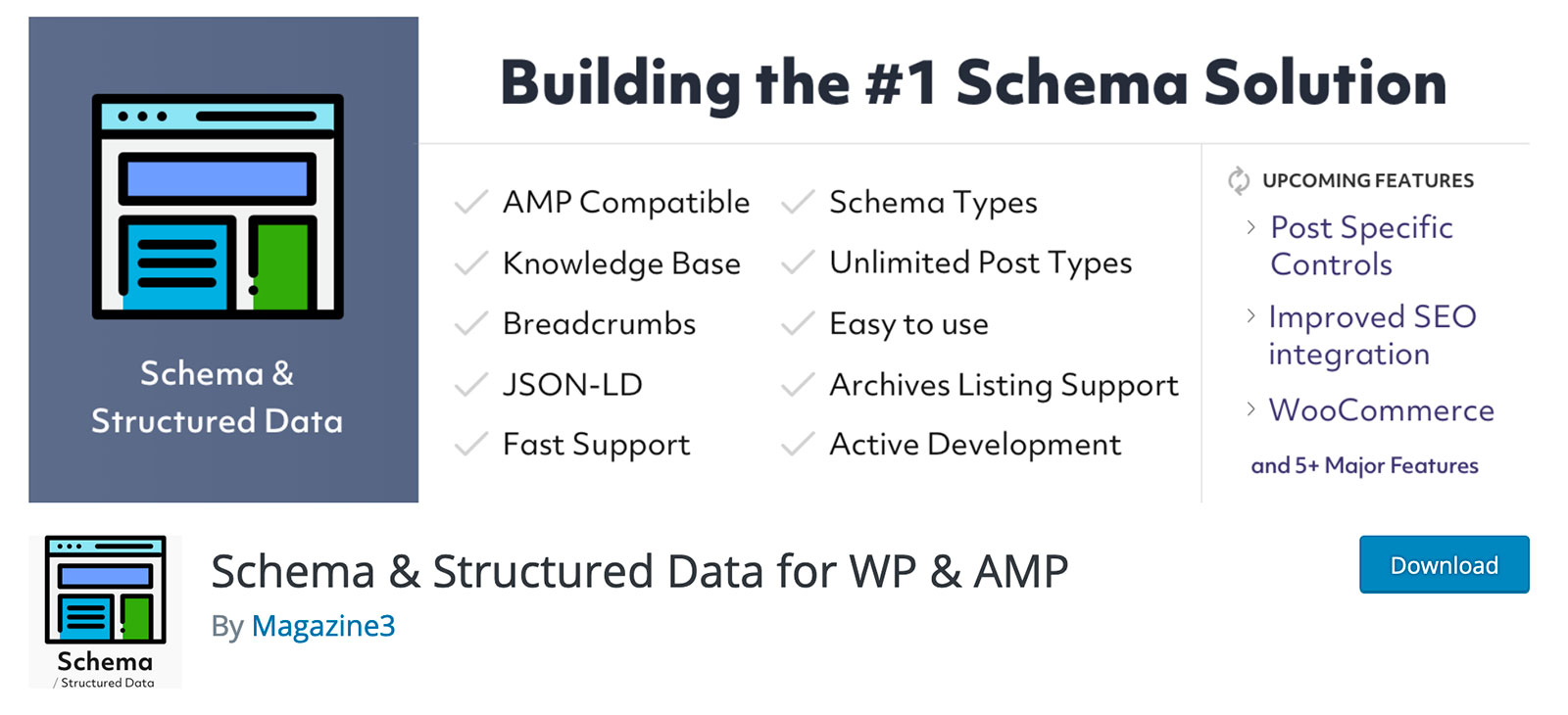 schema structured data plugin seo