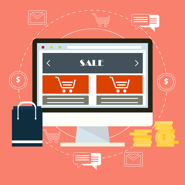 sale ecommerce vector